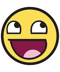 Meme Emoticon Face - awesome face funny meme smiley emoticon metal prints by