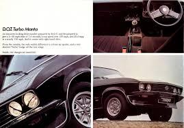 1972 opel manta cars