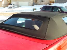 convertible replacement top with glass window third generation