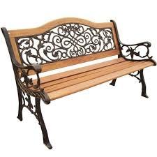 Heritage Patio Furniture Parkland Heritage Sienna Camelback Patio Park Bench Sl5650co Br