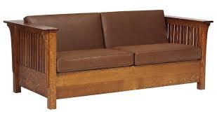 Mission Sleeper Sofa Mission Sleeper Sofa With 60inch Wide Mattress Buckeye Amish
