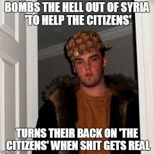 Syria Meme - how every country in europe feels about the us right now imgflip