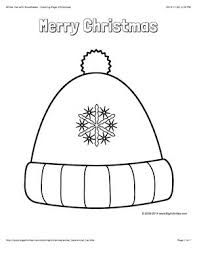 winter hat coloring pages 42 best christmas images on pinterest christmas coloring pages