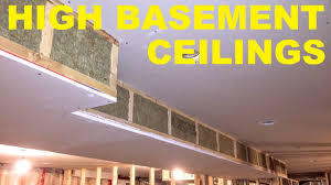 how to maximize basement ceiling height youtube