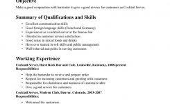 Cocktail Waitress Resume Example by Importance Of Knowing The Business Letter Format Tmgrowvh The