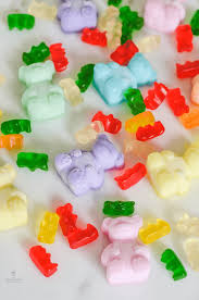 the natural beauty workshop gummy bear jelly soaps