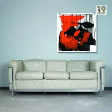 lc2 sofa lc2 sofa by le corbusier for cassina 1960s 68579