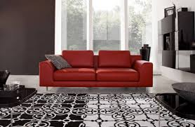 red couch decor stylish living room designs with red couches