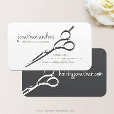 Salon Invitation Card Shears Business Card Calling Card Mommy Card Contact