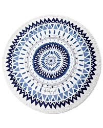 the beach people majorelle round beach towel neiman marcus