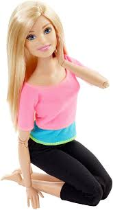 barbie move doll pink toys