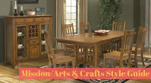 Arts And Crafts Dining Room Furniture Interior Design Style Guide Mission Arts Crafts Hm Etc