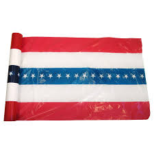 International Bunting Flags 5 Stripe Plastic Us Flag Bunting 100 Yard Roll