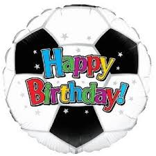 inflated balloons delivered happy birthday football balloon delivered inflated in a box with