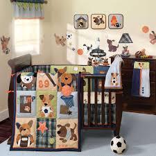 Babies Crib Bedding Set by Baby Nursery Cool Boy Baby Crib Sets Decor With Cute Wall Decal