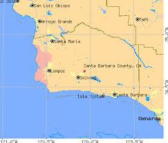 santa barbara california map santa barbara county california detailed profile houses