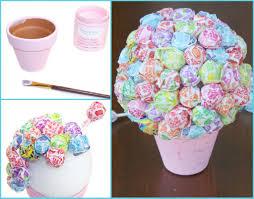 lollipop bouquet diy lollipop bouquet craft diys and gift