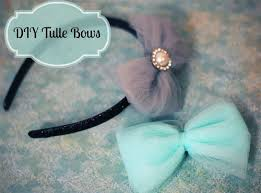 tulle hair bows tulle bows how to make tulle hair bows and headbands the hair