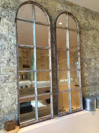 Large Arched Wall Mirror Best 25 Industrial Mirrors Ideas Only On Pinterest Mirrors