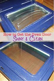 clean glass fireplace doors best 25 clean oven door ideas on pinterest oven cleaning