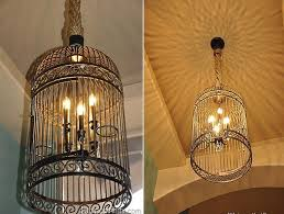 Birdcage Chandeliers Light Up The Room With These Diy Chandeliers