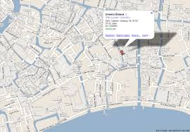 Map Venice Italy by Where We Are United Nations Educational Scientific And Cultural