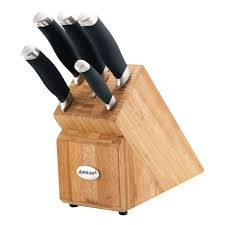 kitchen knives block anolon knife block set kitchenware anolon australia