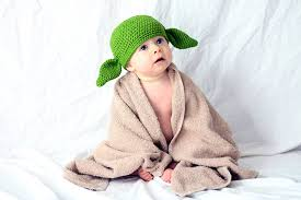 yoda halloween costume kids amazon com milk protein cotton yarn handmade star wars baby yoda