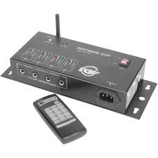 adj uc3 wireless remote controller for 4 light fixtures