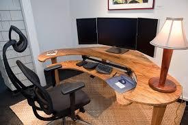 Wooden Computer Desk Designs by Popular Of Custom Desk Design Ideas Perfect Home Office Furniture
