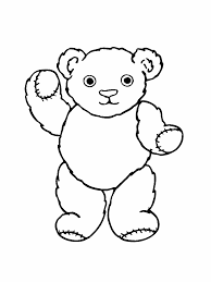 valentine teddy bear coloring page alltoys for