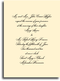 wedding reception invitation wording after ceremony pieces of a wedding invitation ensemble