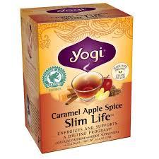 candy apple bags yogi tea organic teas blend slim caramel apple spice 16