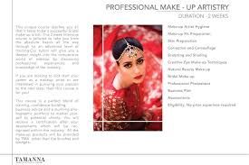 make up artistry courses tamanna professional makeup artist in hyderabad top bridal makeup