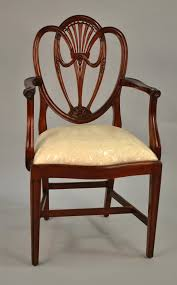 shield back side chair 76 082 dering hall sheraton shield back