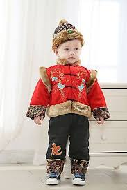 new year baby clothes new year tradition costume boy 3 pc set party suit