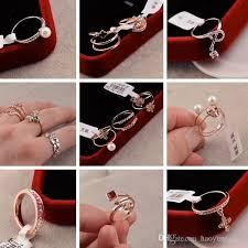 big crystal rings images 2018 new gorgeous wedding rings big crystal zircon gem gold plated jpg