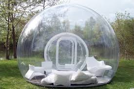 Dome House For Sale A Transparent Bubble Dome That Lets Campers See The Stars They U0027re
