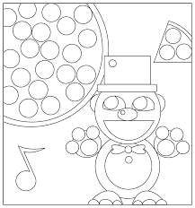 five nights at freddy u0027s freddy coloring page by artistaterra on