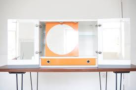 1960s kitchen cabinets vintage danish bathroom cabinet wall mounted vanity unit mirror
