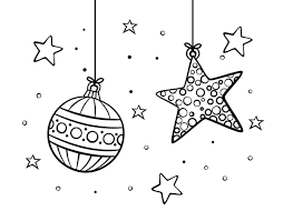 ornaments coloring page coloringcrew