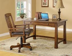 Riverside Home Office Furniture Craftsman Home Oak Writing Desk By Riverside Furniture Furniture
