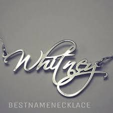 best name necklace best name necklace namenecklace