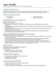 Great Resume Objectives Examples by Job Goal On Resume Best Resume Objective Resume Objective Sample