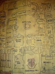 Harry Potter Marauders Map The Marauders Map Marauders Map By Samanthafay1987 On Deviantart