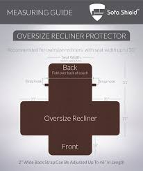 Oversized Recliner The Original Sofa Shield Sofa Protector 4 Sizes Reversible