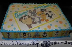 looney tunes baby shower italian bakery fondant wedding cakes pastries and