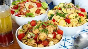 easy pasta salad easy pasta salad 3 delicious ways youtube