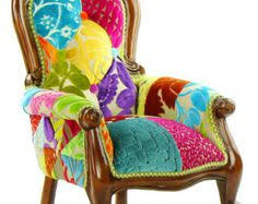 Funky Armchairs Love This Chair Stuff I Love Pinterest Patchwork Chair