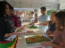 annual free thanksgiving dinner 11 24 2016 kilauea hawaii anaina